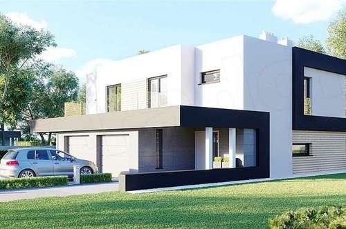 Modernes Doppelhaus in Wolfsgraben