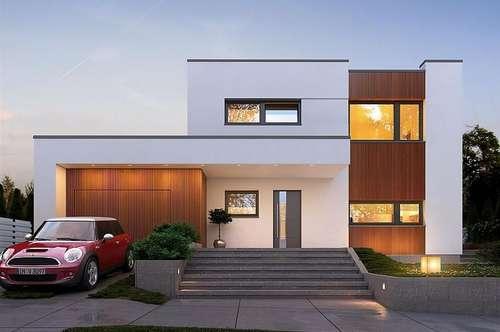 Modernes Wohnen in Gänserndorf mit einkalk. Grundstück