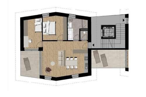 NEUBAU: 3-Zimmer Wohnung mit Terrasse