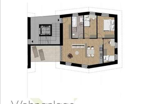 NEUBAU: 4-Zimmer Wohnung mit Terrasse
