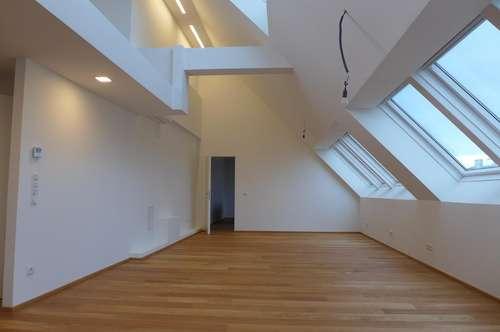 loftartige, coole Dachgeschosswohnung von Privat - ERSTBEZUG - PROVISIONSFREI