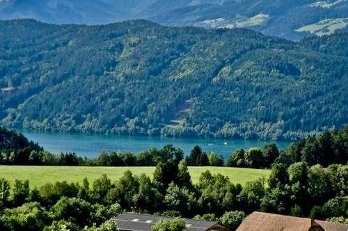 Residenz mit See und Panoramablick am Millstätter See