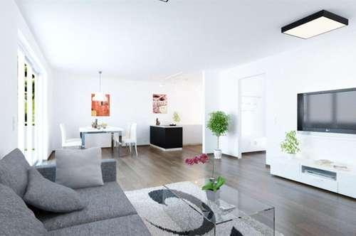 Perfekte Aufteilung auf 52,6 m² und 2 Zimmer, mit Garten und Terrasse!!!!