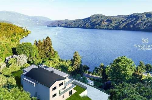 Neubauprojekt Waldrand Residenz Millstätter-See ! Seeblick und Seezugang