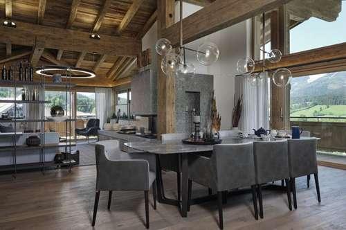 Voll möblierte Luxus-Penthousewohnung in Ellmau