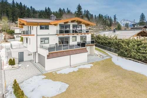 Modernes Landhaus in Sonnen- und Ausblicklage am Golfplatz von Ellmau