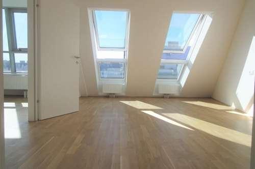 Dachterrassenwohnung mit 54 m² Terrasse + 6 m² Balkon