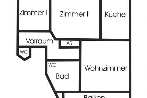 Hallein: 3 Zimmer - Wohnung mit Süd-Balkon zu vermieten!