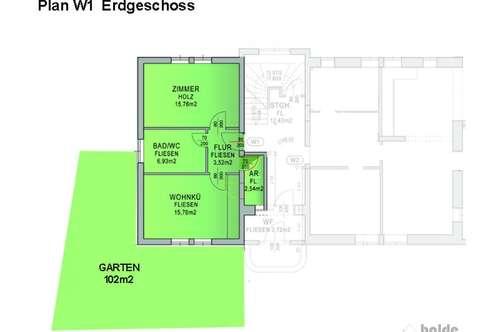 Bürmoos: Neue 2 Zi- Garten-Wohnung zu verkaufen!