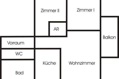 Salzburg Stadt: 3 Zi - Wohnung mit Balkon zu verkaufen!