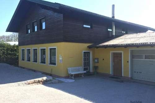 Hallein: Büro- u. Seminarhaus mit 2 Wohnungen u. Garage zu vermieten!