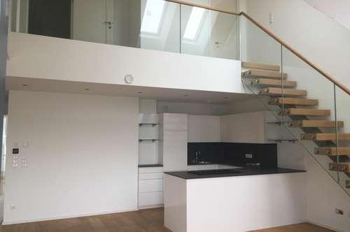 Top moderne, helle Loft-Wohnung mit Balkon in Alt-Urfahr zu vermieten
