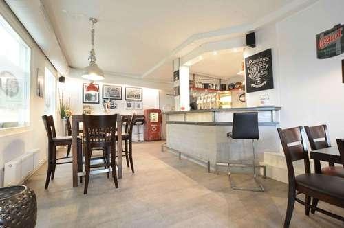 Cafè / Restaurant / Zustellservice mit großer Terrasse