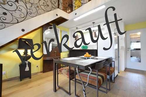 Sonnige Maisonette Wohnung in Ruhelage