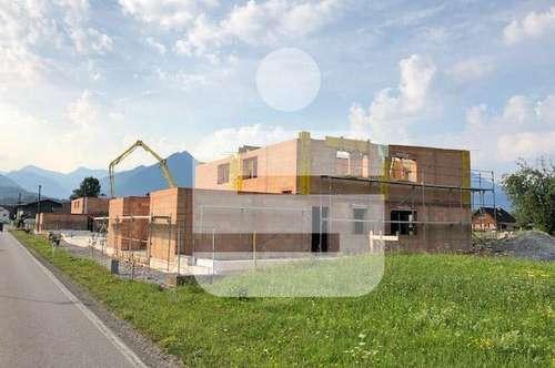 Neubau von acht Doppelhaushälften in Pflach