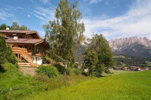 Ski in / Ski out: Chalet mit Kaiserblick