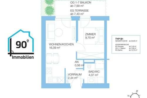 Neubau-Anlegerwohnungen in Graz