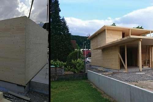 Individuelle Rohbauten ab 850/m² fertig montiert, inkl. MwSt. Montage auf dem von ihnen gewünschten Grundstück.