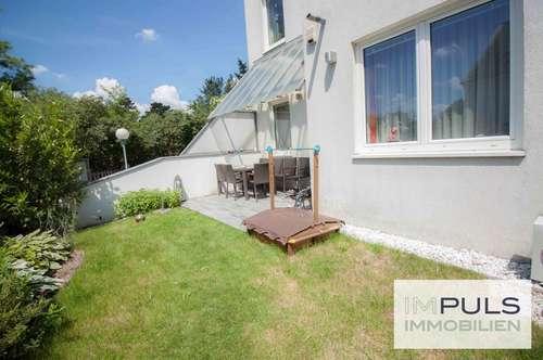 Ruhige, gut geschnittene & sehr gepflegte 3-Zimmer Wohnung | Terrasse mit Wohlfühlgarten | Parkplatz | Klimaanlage