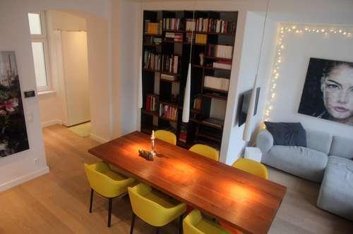 Sonnige 3 Zimmer Wohnung in komplett saniertem Altbauhaus nähe Grüner Prater – ohne Maklerprovision