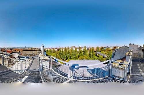 Servitenviertel - Rossauer Lände | Zentrales Penthouse mit 4 Schlafzimmern und 3 Freiflächen