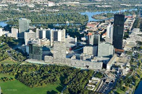 Donau City, bei Vienna International Center, möbliert