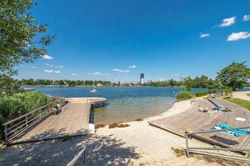 Alte Donau - Eigengrund - Balkon - Dachterrasse möglich - provisionsfrei
