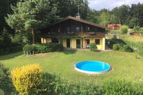 Landhaus am Waldrand in sonniger Ruhelage