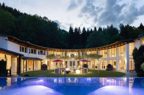 Privat Hideaway mit Tennisplatz und Edelstahlpool - 7100m2 Villa/Anwesen Provisionsfrei von Privat!  incl. Einrichtung