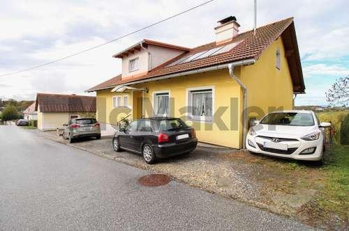 Wohnen am Weinberg: Einfamilienhaus mit Einliegerwohnung und herrlicher Aussicht unweit von Graz