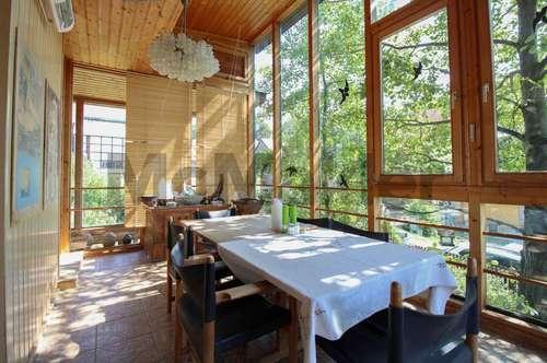 Schmuckstück im Wienerwald: EFH mit Garten, Sauna und Kaminofen in idyllischer Lage