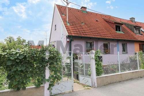 Charmante DHH mit Garten und viel Ausbaupotenzial in ruhiger, zentrumsnaher Wohnlage