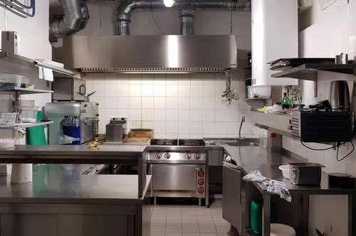 Küche zu vermieten - betriebsbereit & voll ausgestattet