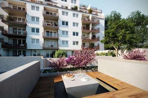 ROSE LIVING - Neubauwohnung mit Garten in Ruhelage