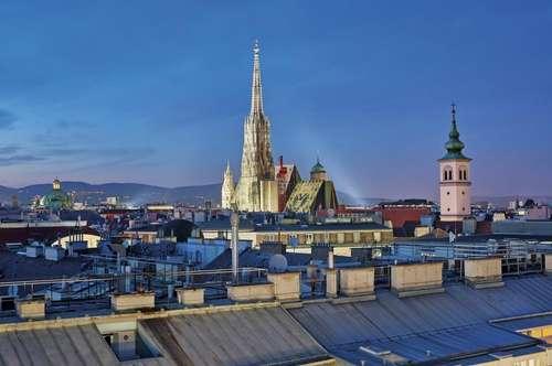 Luxury Living - Penthouse mit Stephansdomblick