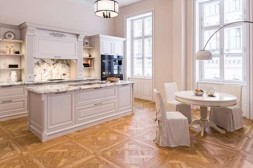 Luxuriöse Altbauwohnung