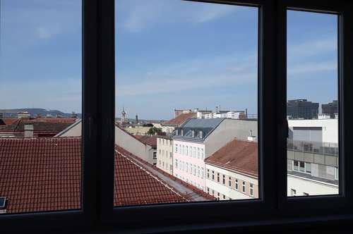 TOP Dachgeschosswohnung mit unverbautem Kahlenbergblick Nähe Brunnenmarkt