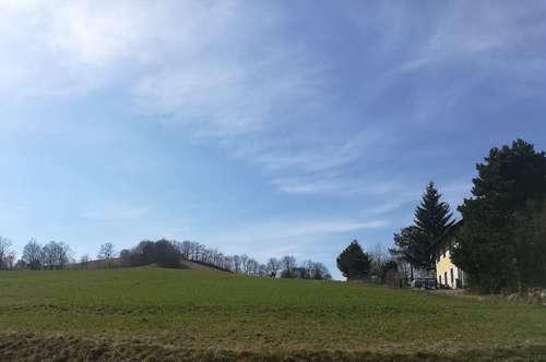 1000m2 sonniger, westseitiger Baugrund | 37m Strassenfront | Gaaden | Sittendorf | Sulz im Wienerwald