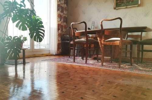 Sonnige 105m2 | 3-4 Zimmer | Terrasse | letzter Liftstock | U4, U6 | WG - Eignung