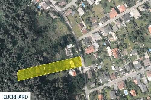 BAUEN zu ZWEIT -Grundstück mit Fernblick und Bewilligtes Bauprojekt für 2 Wohnungen in toller Lage