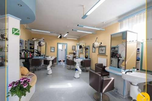 Friseursalon in zentraler Lage sucht dich!