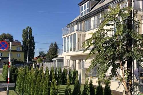 Traumhafte Dachgeschosswohnung mit Terrasse, Garage und neue Küche nähe alte Donau!