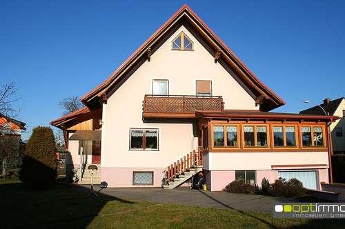 Brauchen Sie mehr Platz? Geräumiges Einfamilienhaus mit schönem Wintergarten!