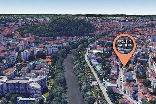 Für Bauträger - Projektliegenschaft mit Schloßbergblick