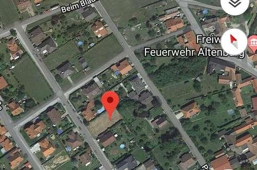 Bauplatz in Altenburg bei Horn zu verkaufen