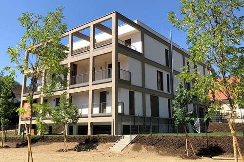 HILMTEICH - ERSTBEZUG wunderschöne 2-Zimmer-Wohnung mit Balkon und Tiefgarage PROVISIONSFREI
