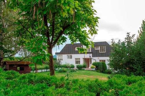 Provisionsfreie Villa mit Pool und Blick auf Perchtoldsdorfs Burg, direkt an den Weinbergen!