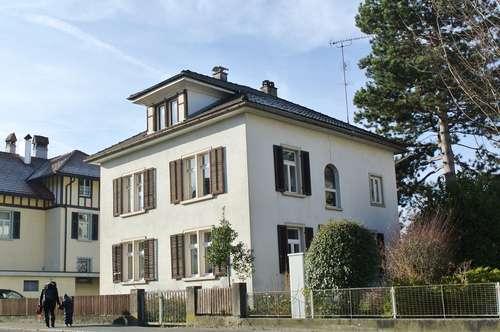 Gallusstraße: Einfamilienhaus mit großem Eigengarten (Open House: 28.9., 10-15 Uhr)