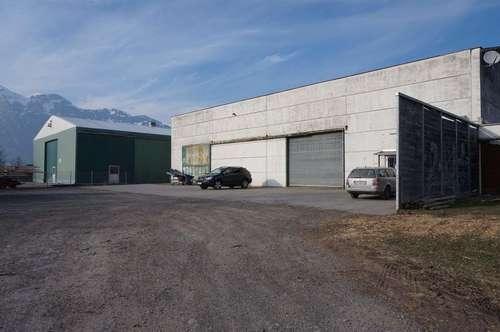 Lagerhalle und Produktionshalle