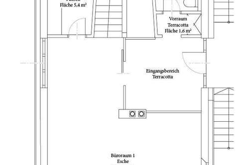 Büro-/Praxisräumlichkeiten von Privat zu vermieten